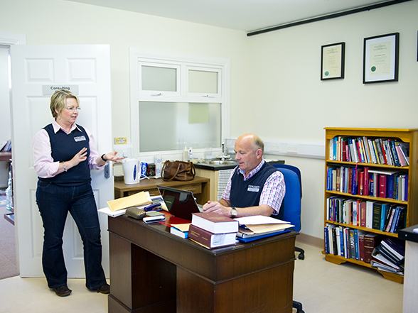 Temporary Office at Omagh Enterprise