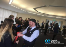 Education 2 Enterprise Graduation Day at Omagh Enterprise With Duff Balloons
