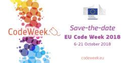 Save The Date: EU Code Week 2018